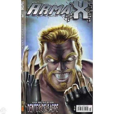 Arma X [Panini] nº 003 dez/2003