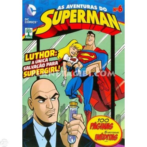 As Aventuras do Superman [Abril - DC Animated] nº 006 jan/2014 Até 13/12/2019
