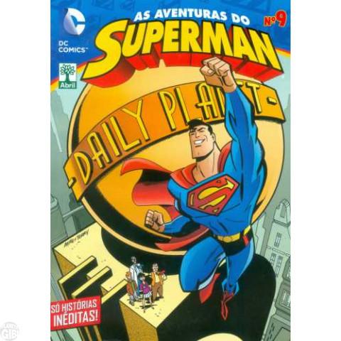 As Aventuras do Superman [Abril - DC Animated] nº 009 mar/2015 - Última Edição Desta Série