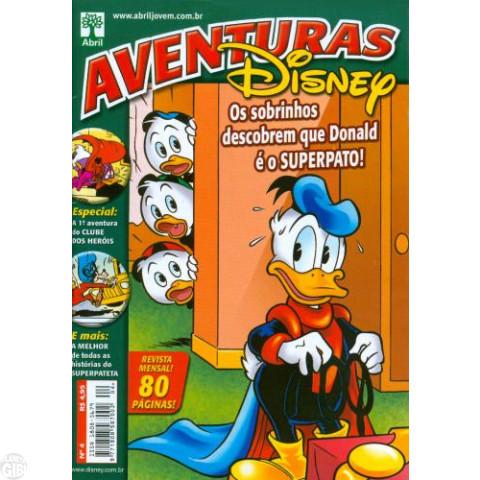 Aventuras Disney nº 004 nov/2005 - Os Sobrinhos Descobrem que Donald É o Superpato