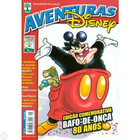 Aventuras Disney nº 005 dez/2005 - Edição Comemorativa Bafo-de-Onça 80 Anos