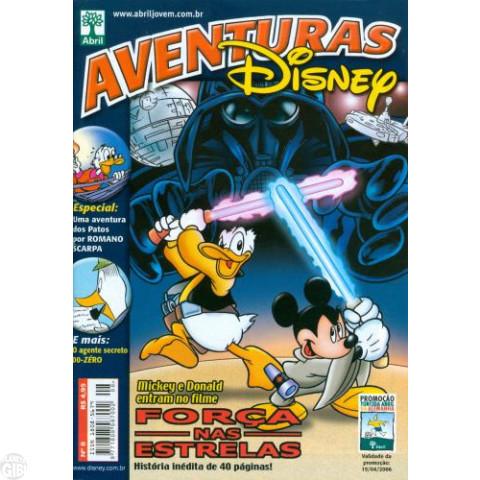 Aventuras Disney nº 008 mar/2006 - Força nas Estrelas