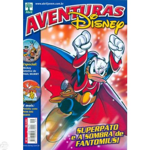 Aventuras Disney nº 009 abr/2006 - Superpato e a Sombra de Fantomius