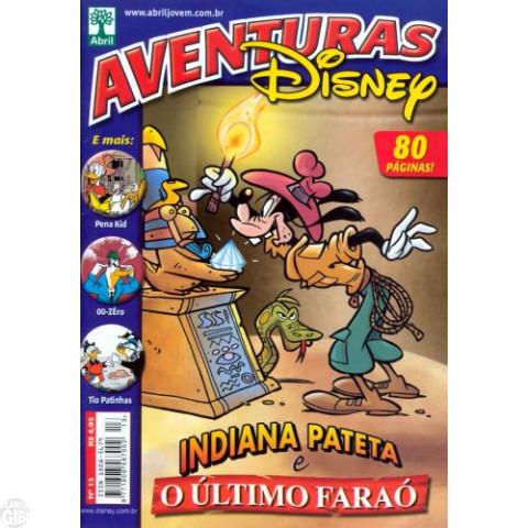 Aventuras Disney nº 013 ago/2006 - Indiana Pateta e o Último Faraó