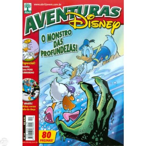 Aventuras Disney nº 014 set/2006 - O Monstro da Lagoa Negra