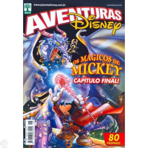 Aventuras Disney nº 026 set/2007 - Os Mágicos de Mickey - Parte Final