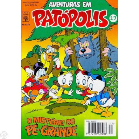 Aventuras em Patópolis nº 017 out/1994 - DuckTales