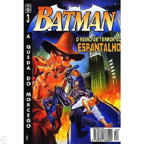 Batman [Abril - 4ª série] nº 003 mai/1995 - A Queda do Morcego