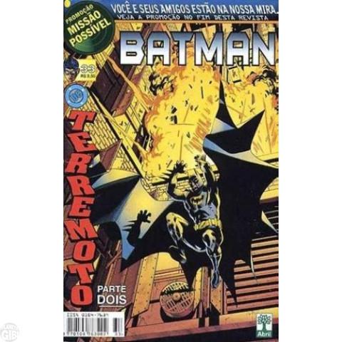 Batman [Abril - 5ª série] nº 033 jul/1999