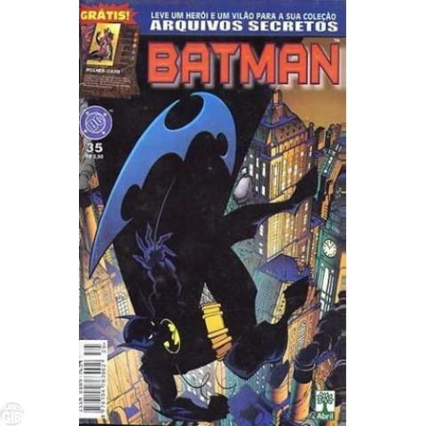 Batman [Abril - 5ª série] nº 035 set/1999