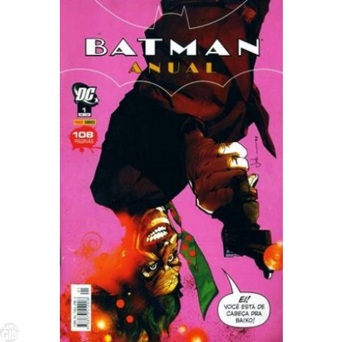 Batman Anual nº 001 set/2006 (MSADCP)