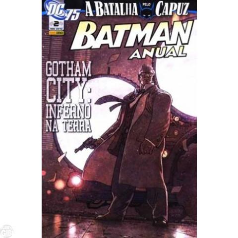 Batman Anual [Panini 1s] 002 mai/2010 - Inferno na Terra