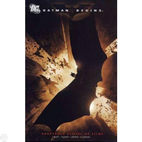 Batman Begins Adaptação Oficial do Filme - 2005 - Leia os Detalhes Abaixo