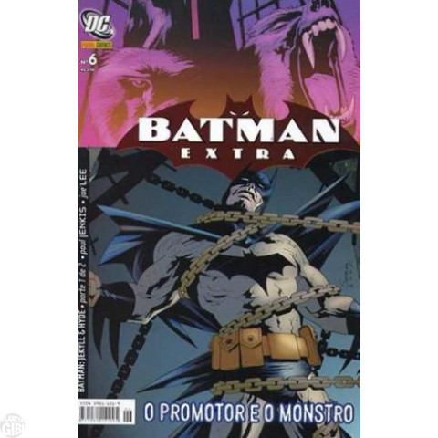 Batman Extra [Panini] nº 006 set/2007