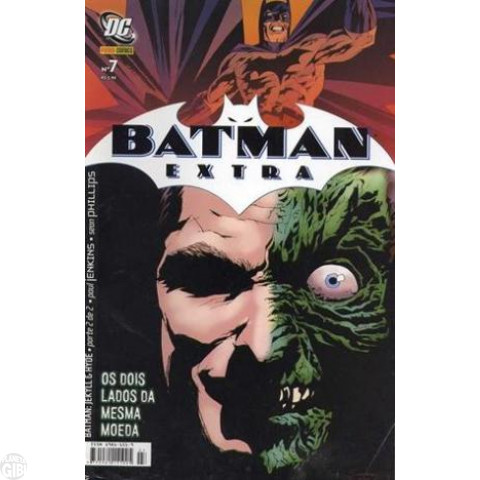Batman Extra [Panini] nº 007 out/2007