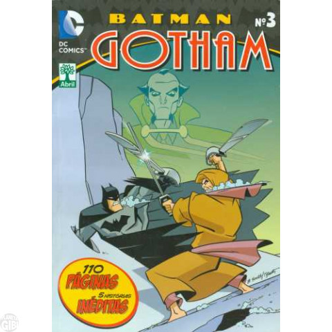 Batman Gotham [Abril - DC Animated] nº 003 jan/2015