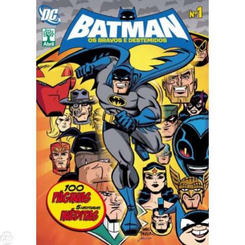 Batman Os Bravos e Destemidos [Abril - DC Animated] nº 001 set/2011