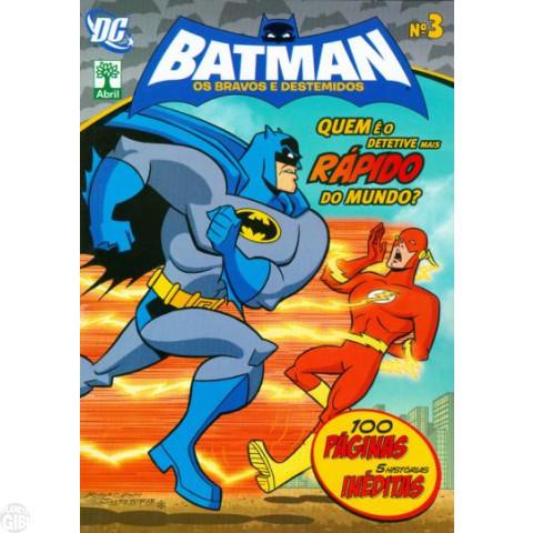 Batman Os Bravos e Destemidos [Abril - DC Animated] nº 003 abr/2012