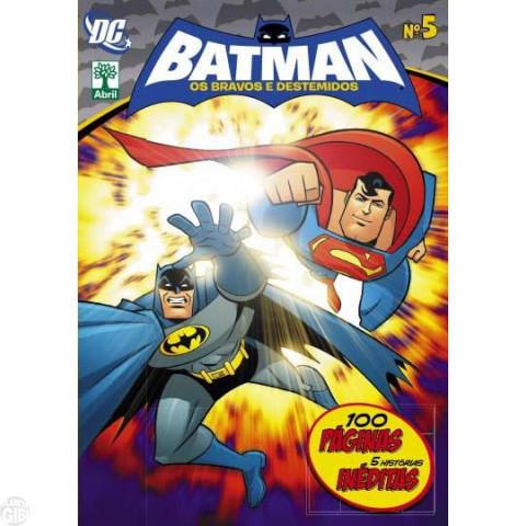 Batman Os Bravos e Destemidos [Abril - DC Animated] nº 005 dez/2013