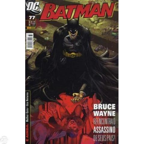 Batman [Panini - 1ª série] nº 077 abr/2009