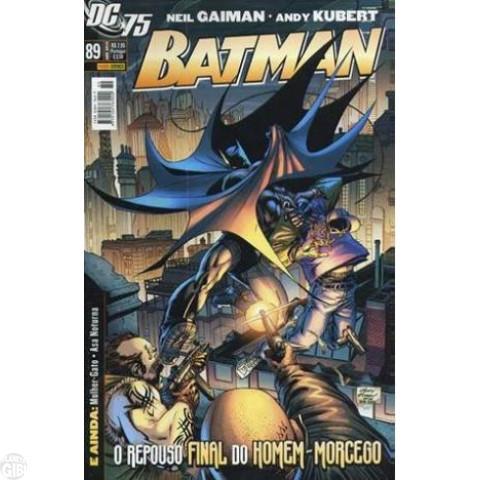 Batman [Panini - 1ª série] nº 089 abr/2010