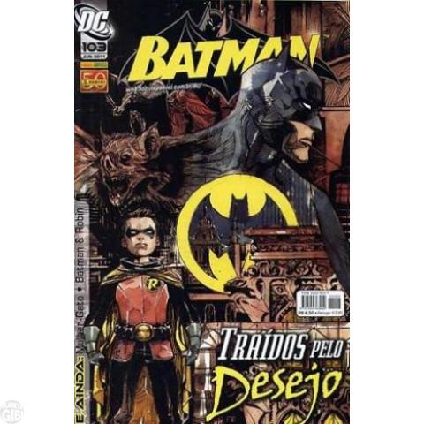 Batman [Panini - 1ª série] nº 103 jun/2011