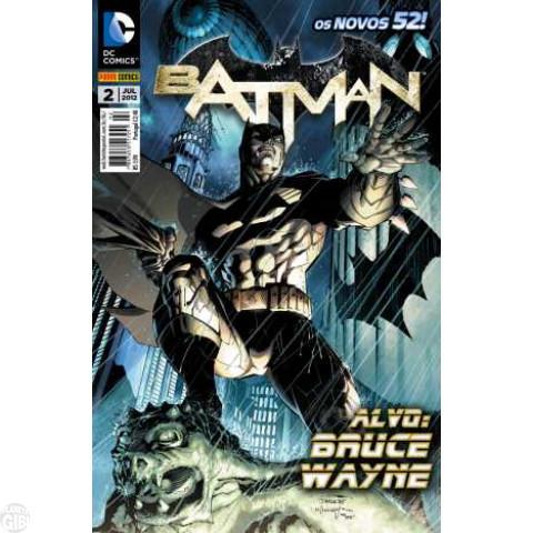 Batman [Panini - 2ª série] nº 002 jul/2012