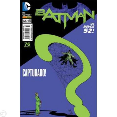 Batman [Panini - 2ª série] nº 033 abr/2015