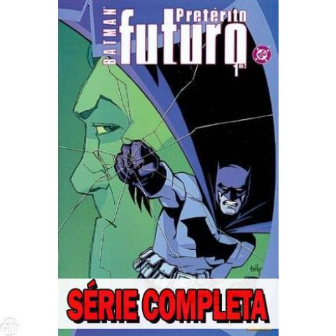 Batman: Pretérito Futuro - Minissérie - Coleção Completa (série em 2 volumes) 2004