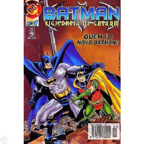 Batman Vigilantes de Gotham [Abril] nº 001 nov/1996