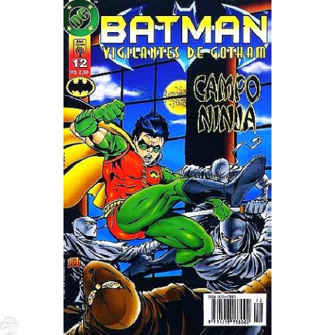 Batman Vigilantes de Gotham [Abril] nº 012 out/1997