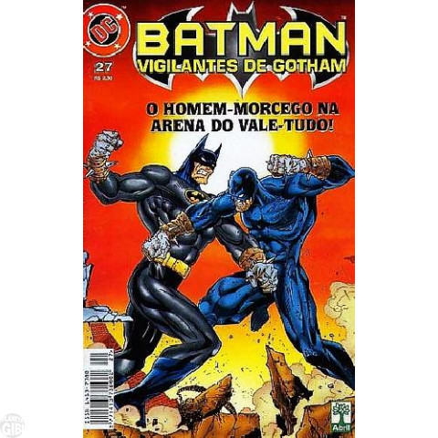 Batman Vigilantes de Gotham [Abril] nº 027 jan/1999