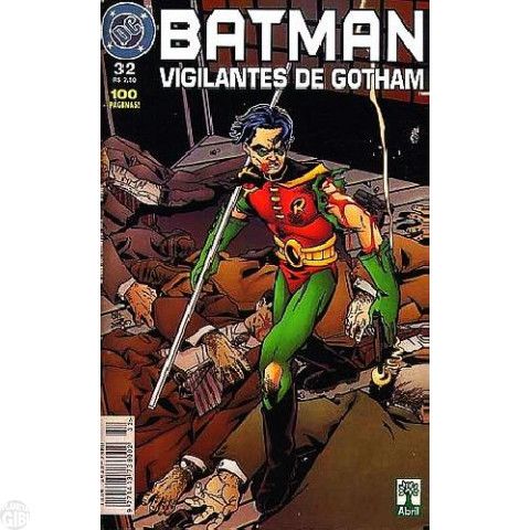 Batman Vigilantes de Gotham [Abril] nº 032 jun/1999