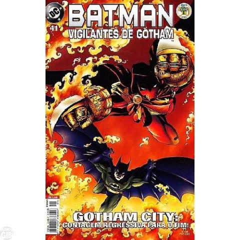 Batman Vigilantes de Gotham [Abril] nº 041 mar/2000
