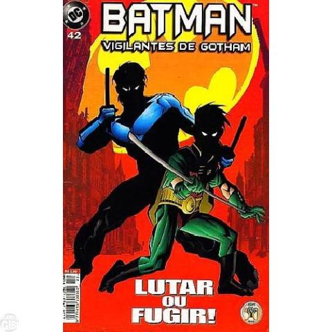 Batman Vigilantes de Gotham [Abril] nº 042 abr/2000