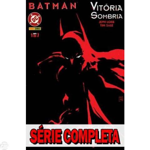 Batman: Vitória Sombria - Minissérie - Coleção Completa (série em 7 volumes) 2003 (MSDCP)