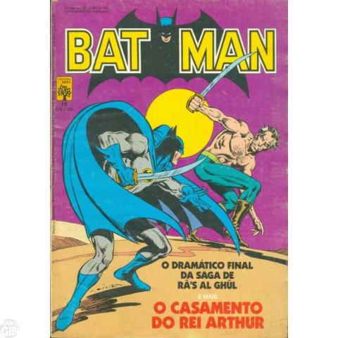Batman [Abril - 1ª série] nº 010 abr/1985