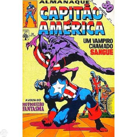 Capitão América [Abril - 1ª série] nº 058 mar/1984 - Com Dicionário Marvel Letra I