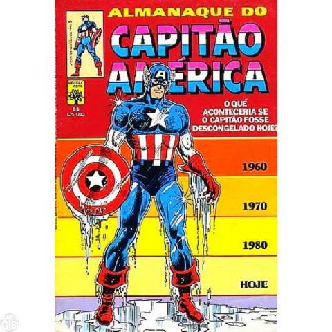 Capitão América [Abril - 1ª série] nº 066 nov/1984 - Almanaque do Capitão América