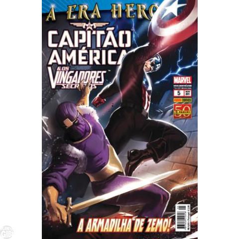Capitão América & Os Vingadores Secretos nº 005 nov/2011 - A Era Heroica
