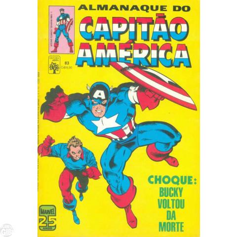 Capitão América [Abril - 1ª série] nº 083 abr/1986