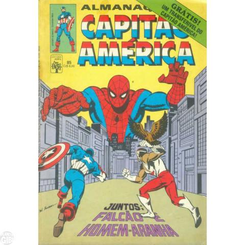 Capitão América [Abril - 1ª série] nº 085 jun/1986 - Almanaque do Capitão América
