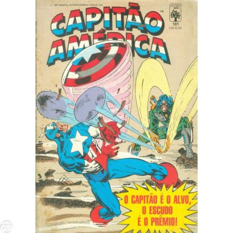 Capitão América [Abril - 1ª série] nº 101 out/1987