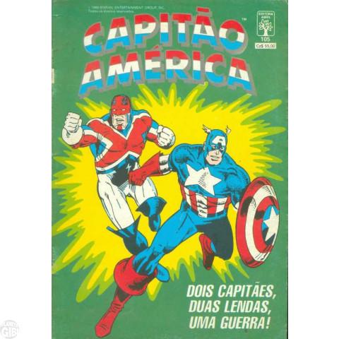 Capitão América [Abril - 1ª série] nº 105 fev/1988
