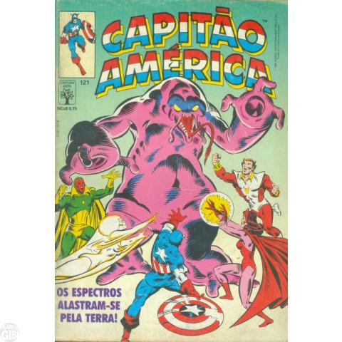Capitão América [Abril - 1ª série] nº 121 jun/1989