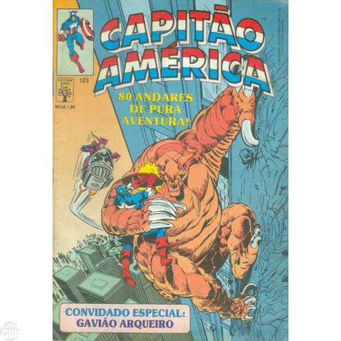 Capitão América [Abril - 1ª série] nº 123 ago/1989
