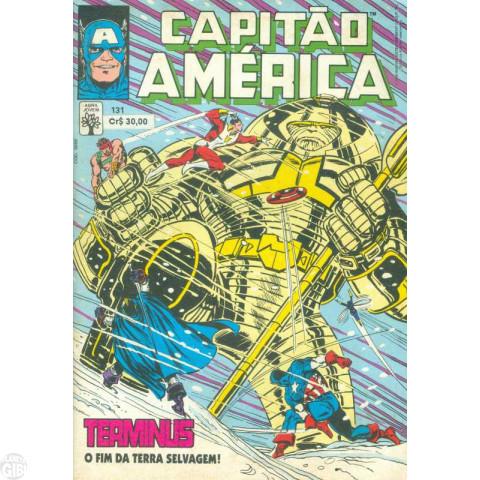 Capitão América [Abril - 1ª série] nº 131 abr/1990