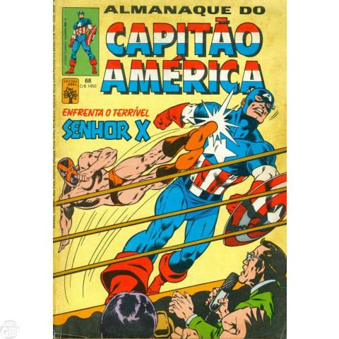 Capitão América [Abril - 1ª série] nº 068 jan/1985 Com Dicionário Marvel Letra S