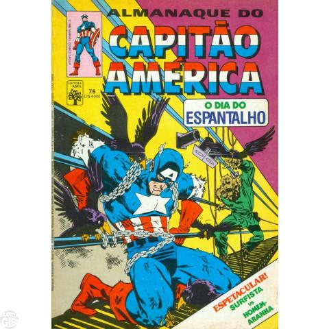 Capitão América [Abril - 1ª série] nº 076 set/1985 Com Dicionário Marvel Apêndice