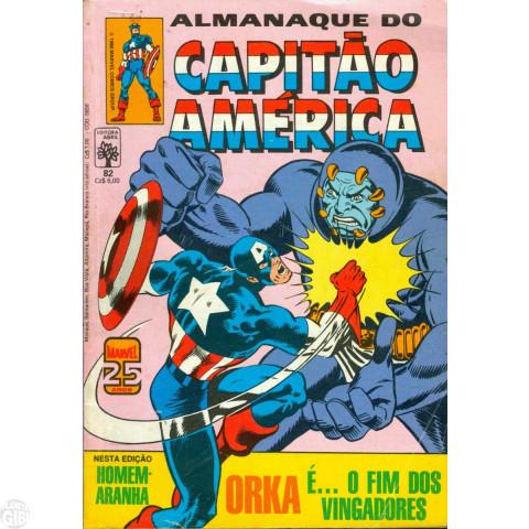 Capitão América [Abril - 1ª série] nº 082 mar/1986